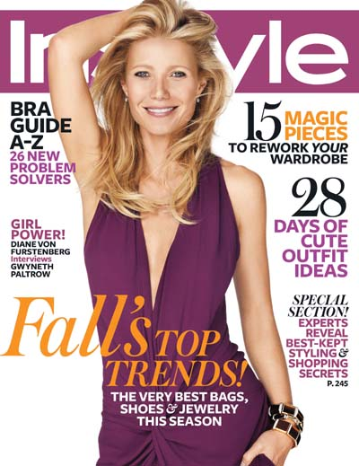 Gwyneth Paltrow InStyle 2012