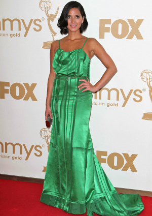 Olivia Munn at the 63rd Primetime Emmy Awards