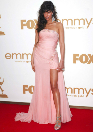 Paz de la Huerta at the 63rd Primetime Emmy Awards