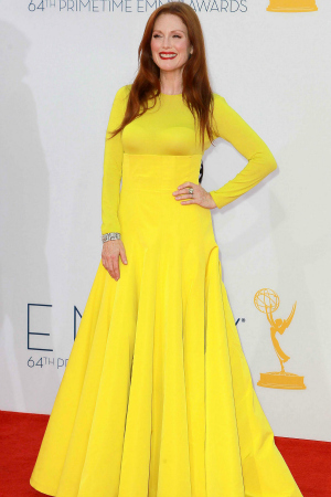 Actress Julianne Moore at the 64th Annual Primetime Emmy Awards