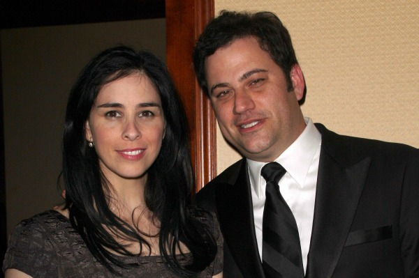 Sarah Silverman and Jimmy Kimmel Attend the Annual Writers Guild Awards