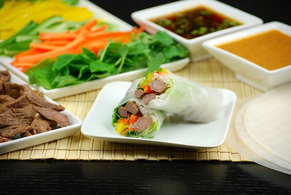 How to…host a spring roll dinner party
