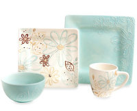 Laurie Gates Daryl 16-Piece Dinnerware Set