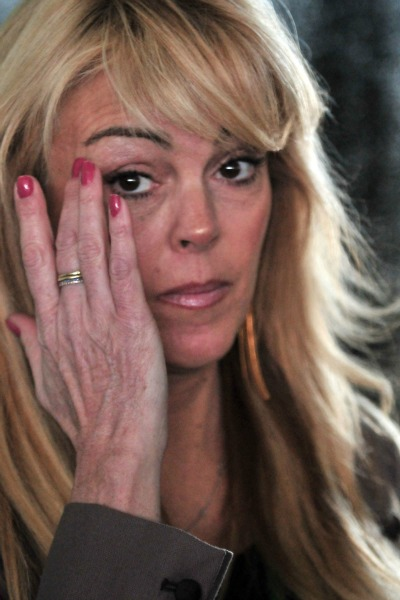 Dina Lohan Tears Up on Dr. Phil