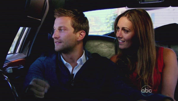 Chris and Sarah on Bachelor Pad