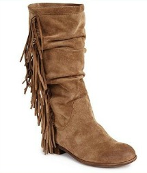 Kenneth Cole Reaction Hi-King fringe boots