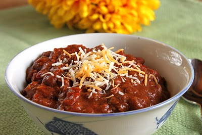 Pumpkin chili with beef