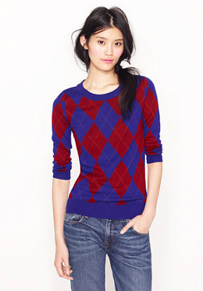 Arygle sweater