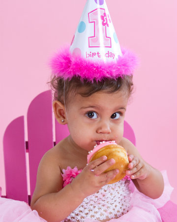 Girl's first birthday