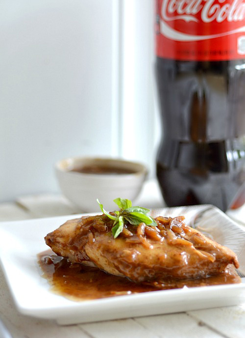 baked coke chicken