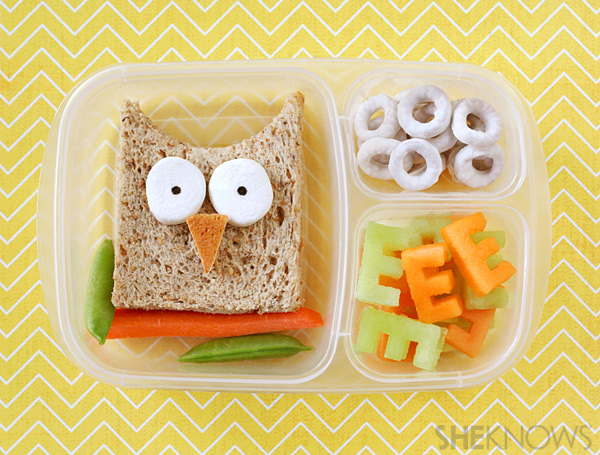 Bento Lunch Owl