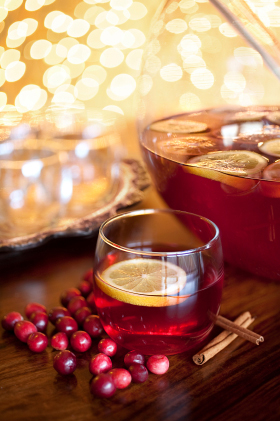 Warming fall drinks