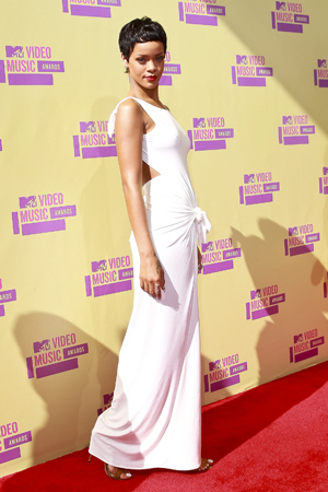 Rihanna best dressed at the 2012 VMAs