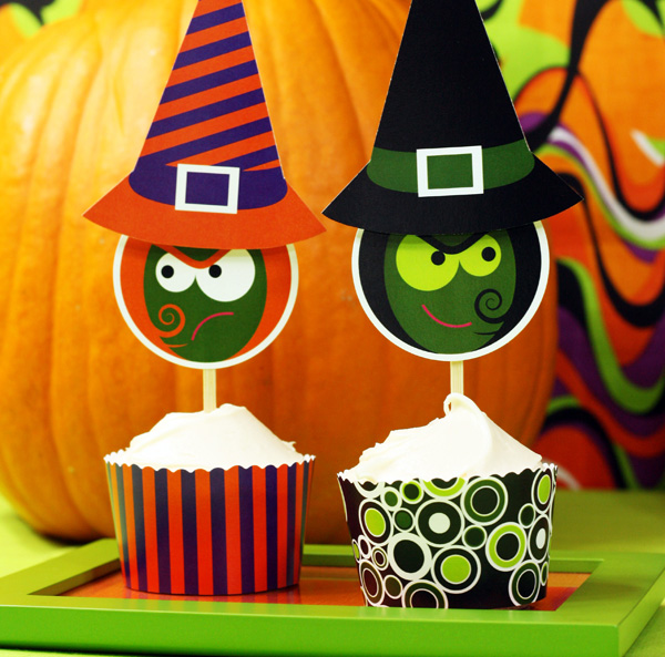 Halloween Cake Decorating Templates : Host a Halloween party with lots of tricks and treats!