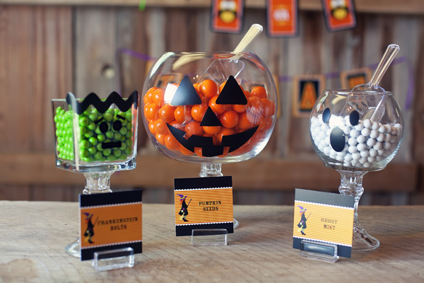 Host a Halloween party with lots of tricks and treats!