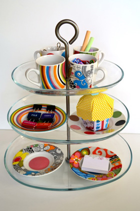 Dust off your cake stand