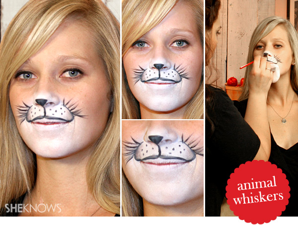 Halloween animal makeup tutorial