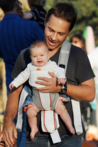 Chad Lowe and daughter Mabel Painter