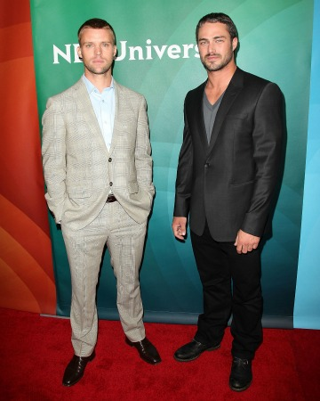 Chicago Fire's Jesse Spencer and Taylor Kinney
