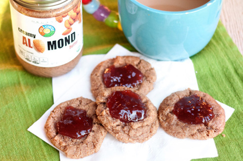 gluten-free strawberry jam thumbprint cookies recipes