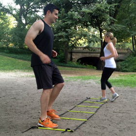 Agility Ladder Quick Steps
