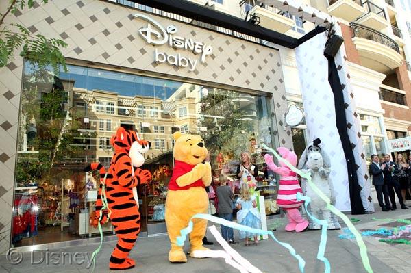 Disney Baby store grand opening