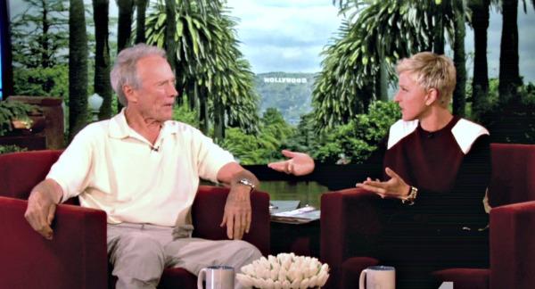 Clint Eastwood talks gay marriage with Ellen