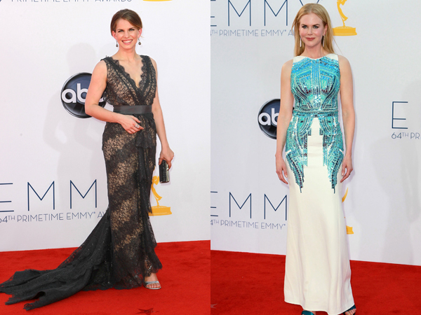 Emmys Best Dressed Anna Clumsky and Nicole Kidman