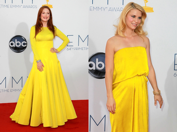 Emmys Best Dressed Julianne Moore and Claire Danes