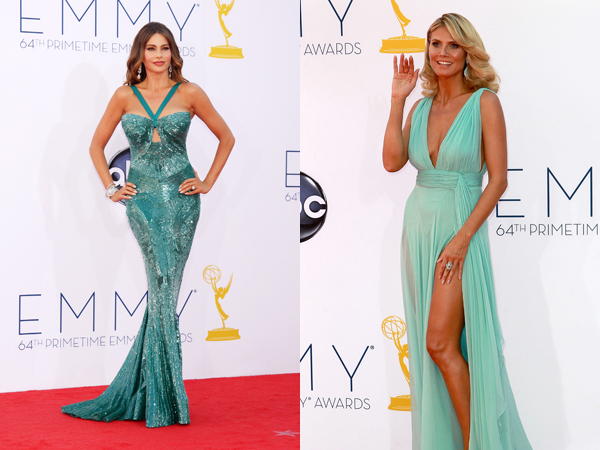 Emmys best dressed Sofia Vergara Heidi Klum