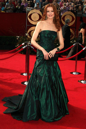 Marcia Cross at the 2005 Emmy Awards