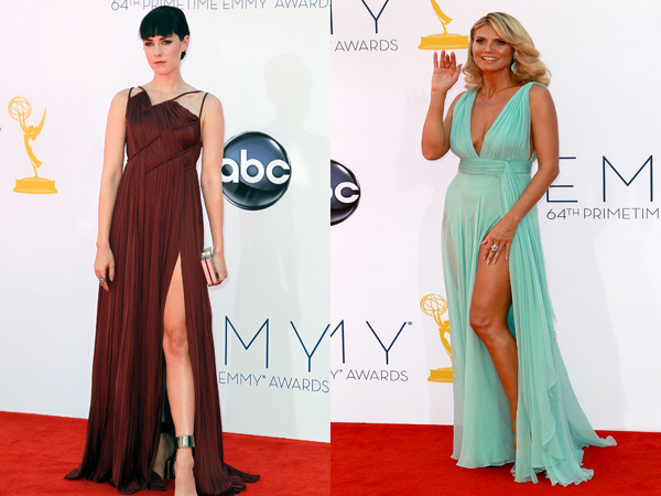 A whole lotta leg at the Emmys