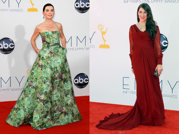 Worst dressed at the Emmys Julianna Marguiles and Mayim Bialik