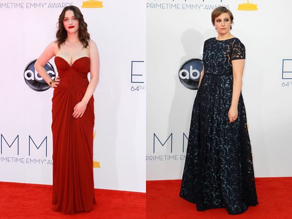 Kat Dennings and Lena Dunham worst dressed