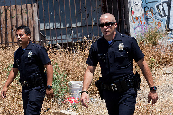 End of Watch Michael Pena and Jake Gyllenhaal