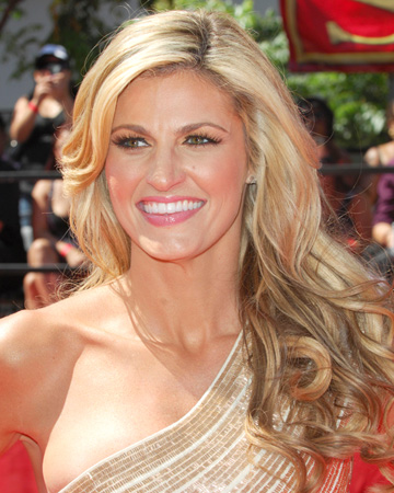 Erin Andrews at 2010 Espy Awards