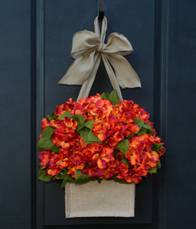 Festive front doors for fall