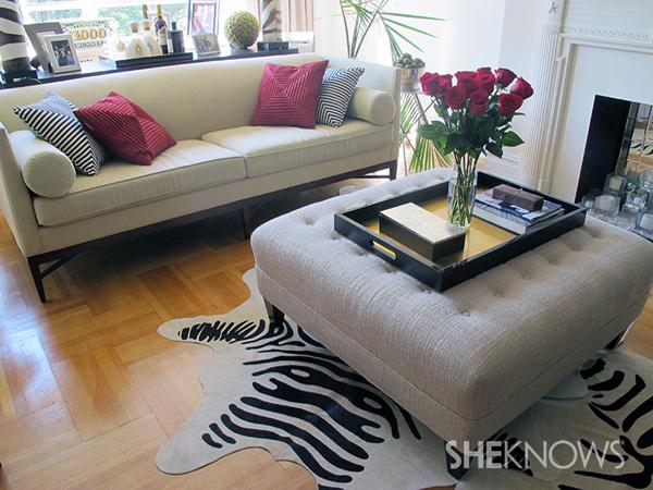 LuAnn de Lesseps's living room