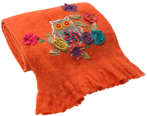 Tangerine tango blanket