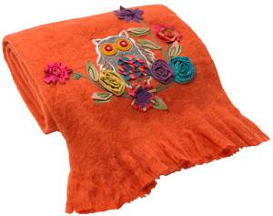 Tangerine tango blanket