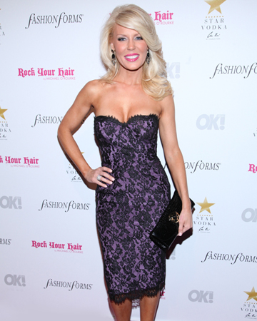 Gretchen Rossi at Fashion Week