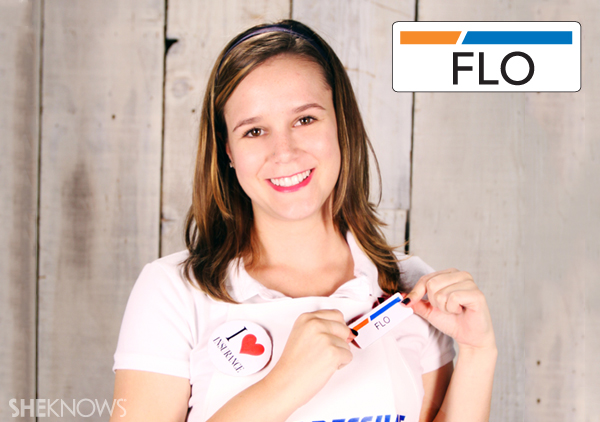 Create Flo's name tag