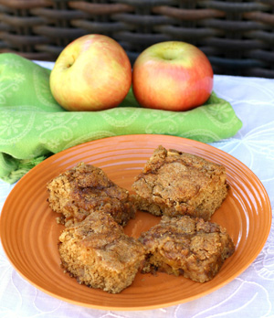 Spiced Apple Squares