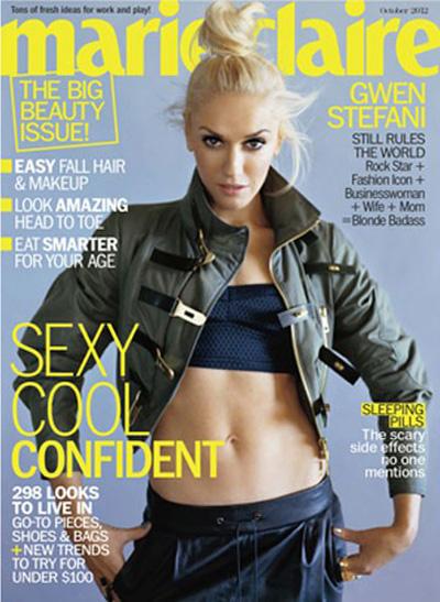 Gwen Stefani Marie Claire 2012