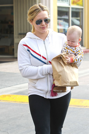 HilaryDuff and Luca