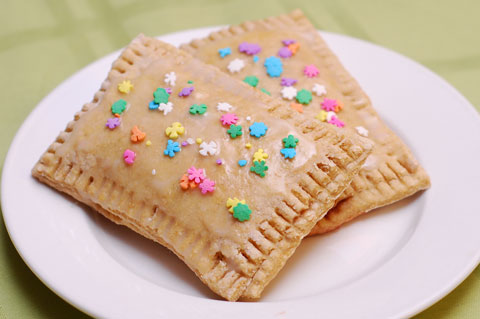 Healthy homemade pop tarts recipe