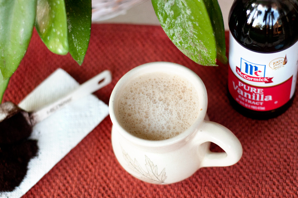 homemade vanilla lattes recipes