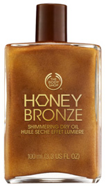 The Body Shop's Honey Bronze Shimmering Dry Oil 