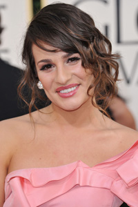 Lea Michele twist and pin
