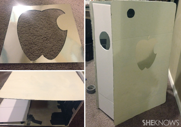 Finishing touches for your broken iPhone Halloween costume